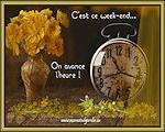 Cartes virtuelles changement d 39 heure au printemps - Changement d heure printemps 2017 ...