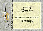 Cartes virtuelles anniversaire de mariage - 45 ans de mariage noce de ...